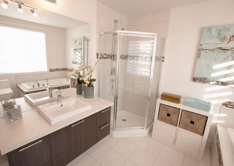 Salle de bain condo neuf Duvernay-Est Laval