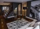 Salon de notre maison modèle au Domaine du Parc à Terrebonne