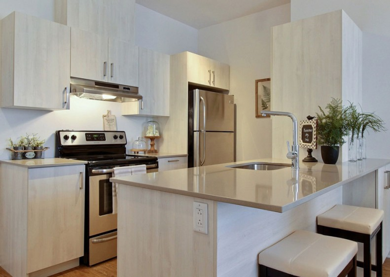 Skillfully-designed contemporary kitchens