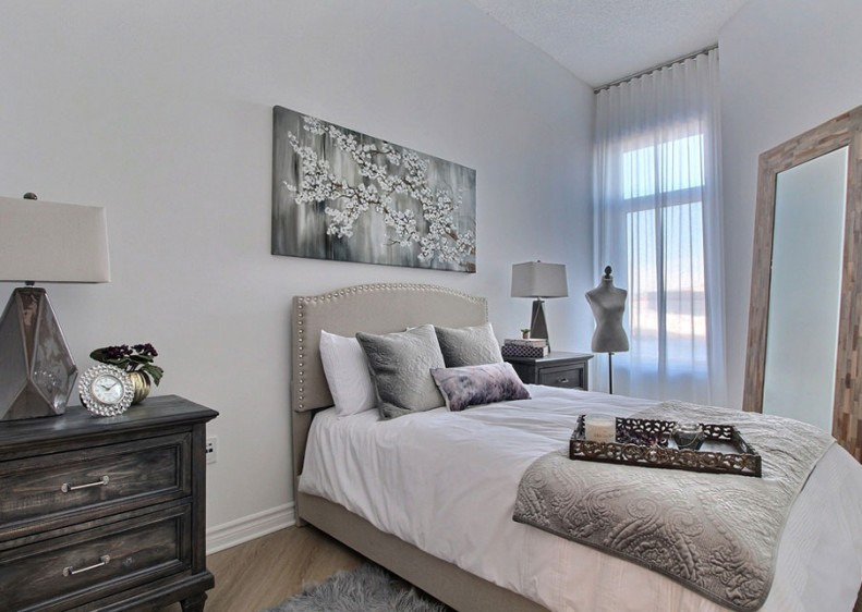An absolutely stunning bedroom with unparalleled comfort