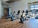 Les appartements Le Lib Boisbriand disposent d'un gym privé