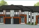 Plan des maisons du projet domiciliaire le Domaine des Ambassadeurs