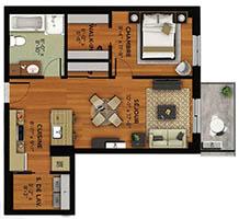 plan 3½ type 5M