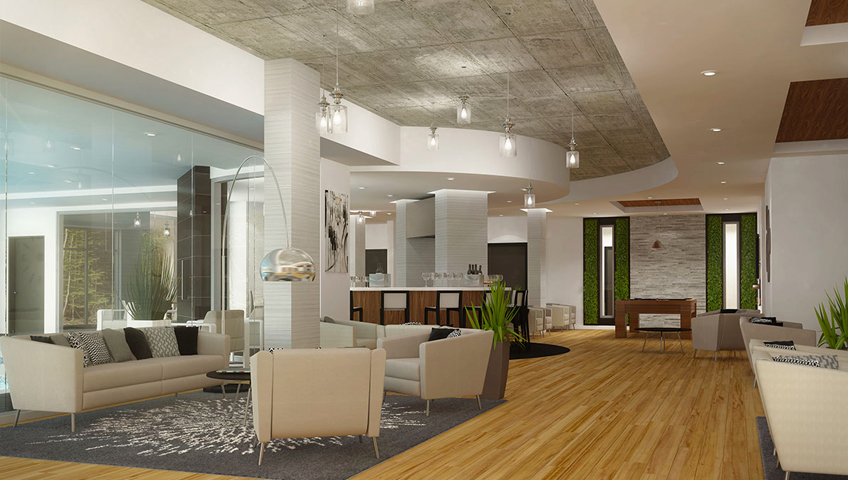10 aires communes exceptionnelles construction voyer for Golf interieur boisbriand