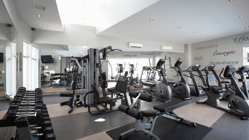 Condos Le Logix - Gym tout équipé Pavillon Viva-Moderna