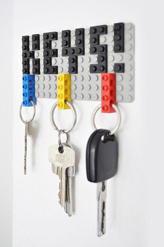Porte-clés design pour garage