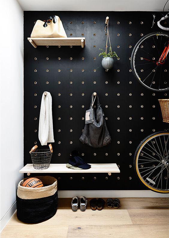 Rangement garage vélo et accessoires