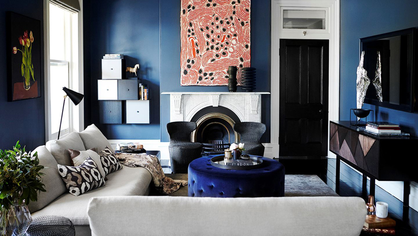 Foyer moderne style marbre