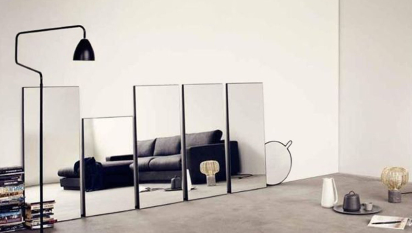 5 fa ons d int grer le miroir votre d cor construction voyer. Black Bedroom Furniture Sets. Home Design Ideas