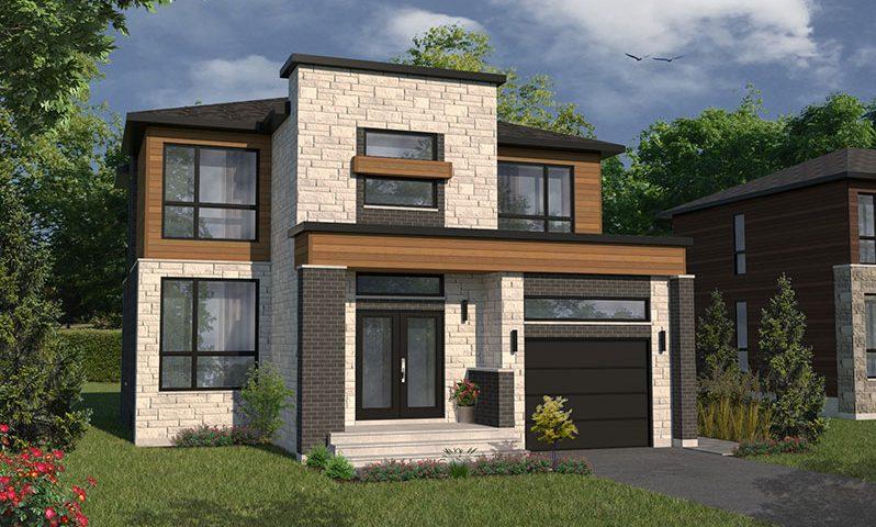 47 Maisons Unifamiliales Sobres Et Chics De Style Bungalow Ou Cottage, Au  Cœur Du0027un Domaine Résidentiel Privé Et Intime à Proximité De Montréal, ...
