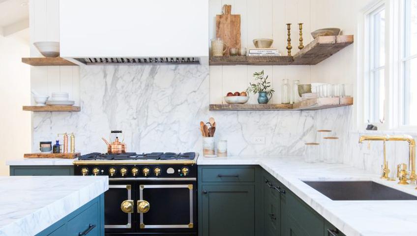Dosseret de cuisine en marbre