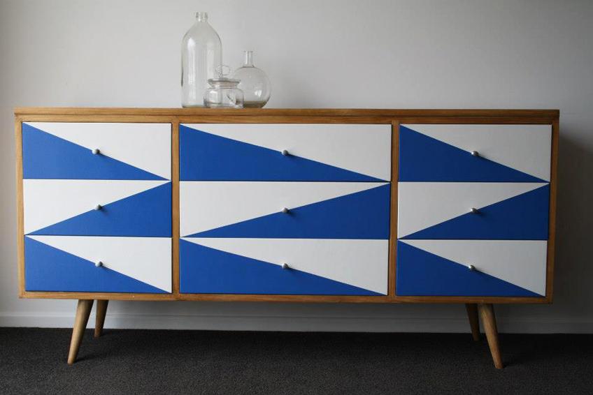 Déco DIY meuble repeint