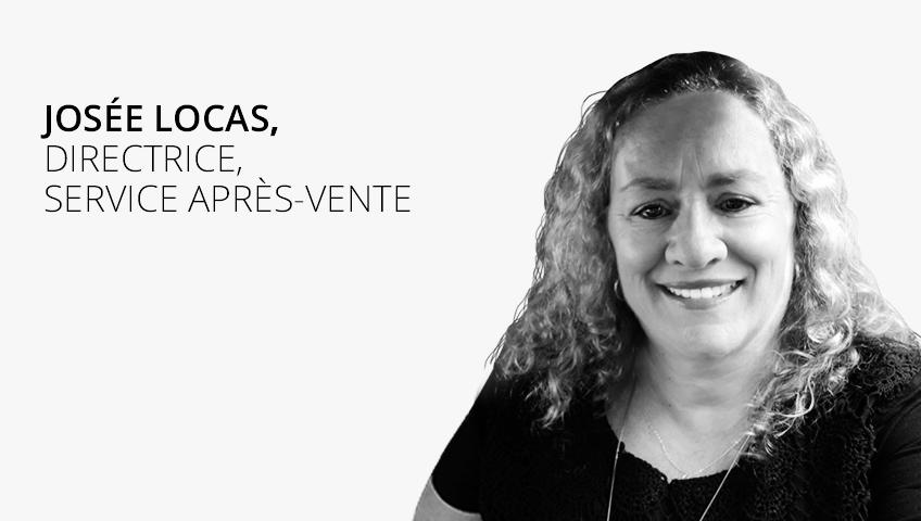 Josée Locas, Directrice Service Après-vente