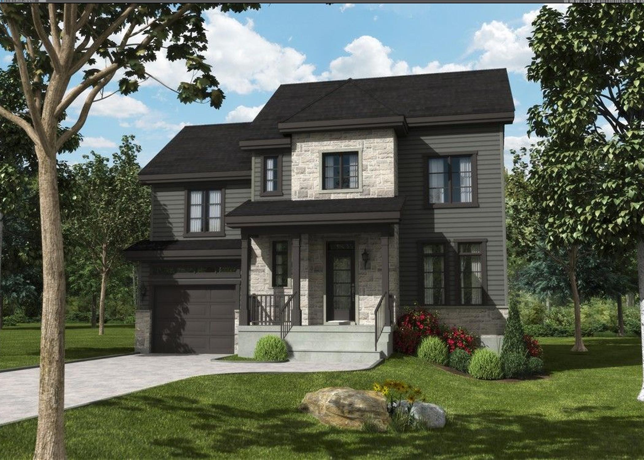 Maisons domaine du parc construction voyer terrebonne for Modele maison intergeneration