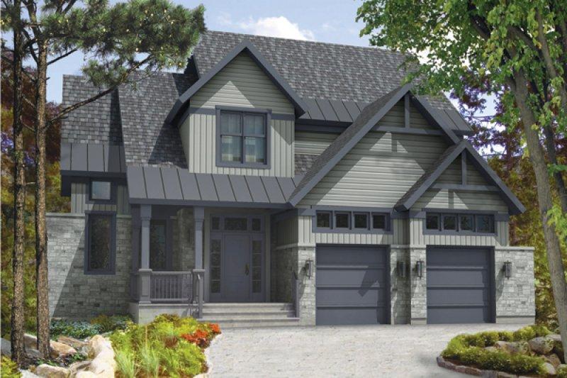Mod le cottage construction voyer laval rive nord for Modele maison intergeneration