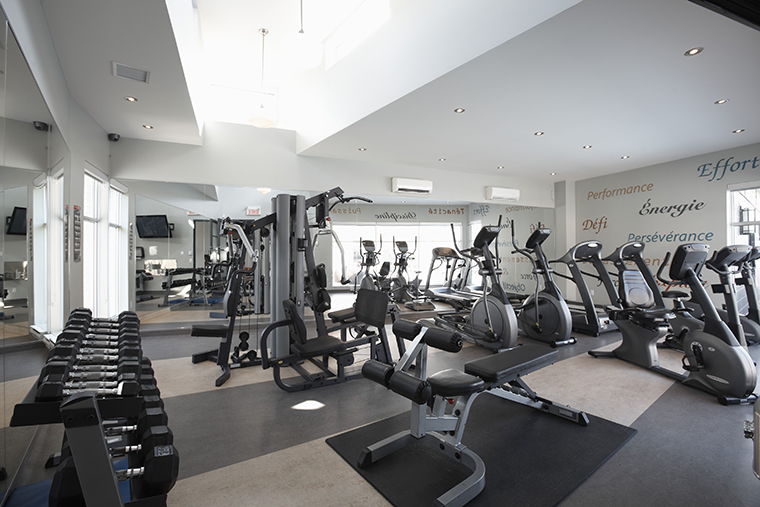 At Logix, you have access to a fully-equipped private gym for your personal training
